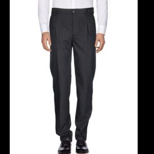 NWT Salvatore Ferragamo Herringbone Wool Pants
